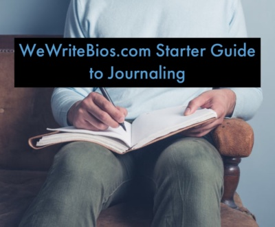 wewritebios.com journaling