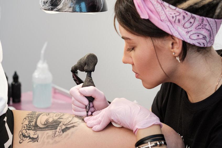 tattoo artist bio